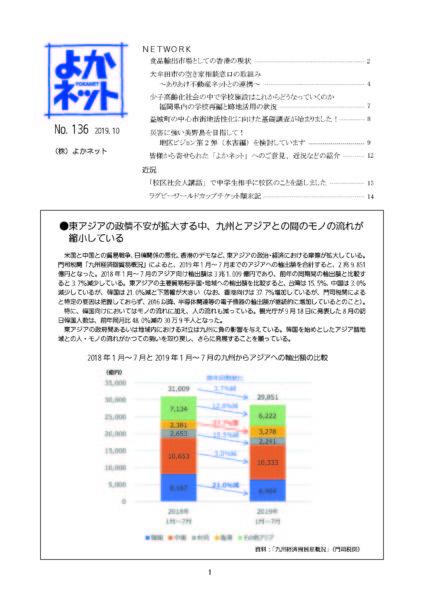 2019年10月号(No.136)