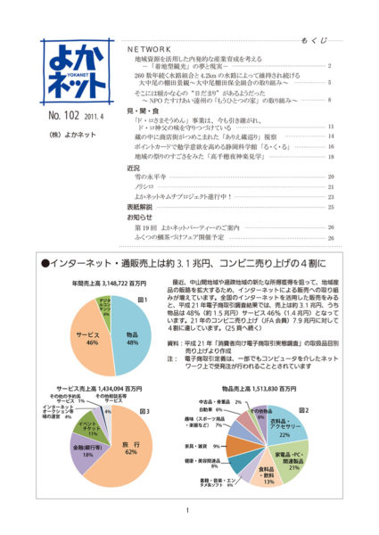 2011年4月号 (No.102)