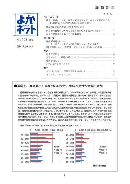 2012年1月号 (No.105)