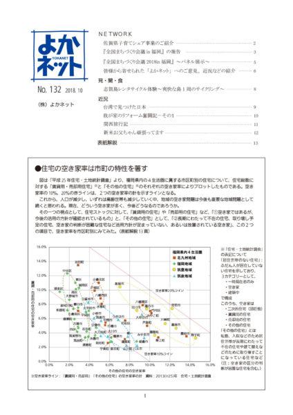 2018年10月号 (No.132)