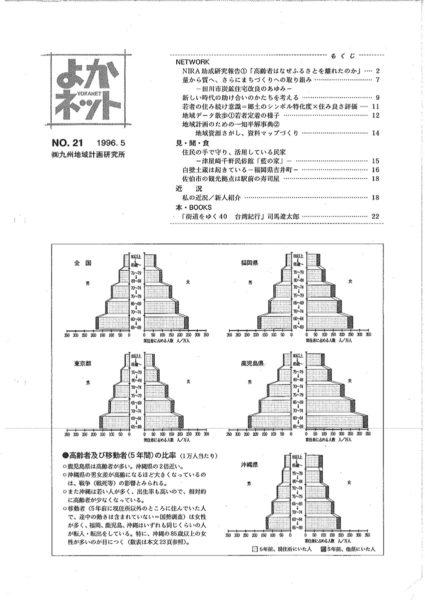 1996年5月号 (No.21)
