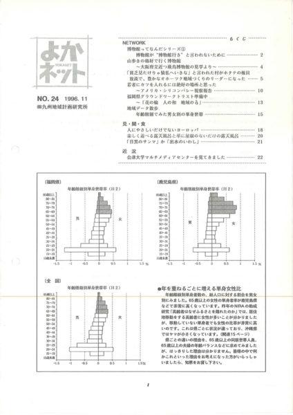 1996年11月号 (No.24)