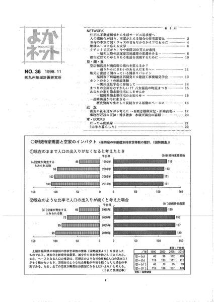 1998年11月号 (No.36)