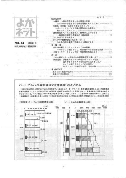 2000年3月号 (No.44)