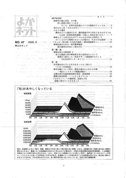 2000年9月号 (No.47)