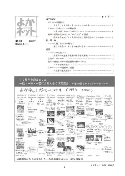 2002年7月号 (No.58)