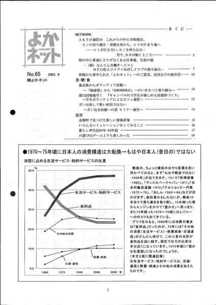 2003年9月号 (No.65)
