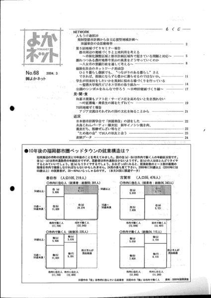 2004年3月号 (No.68)