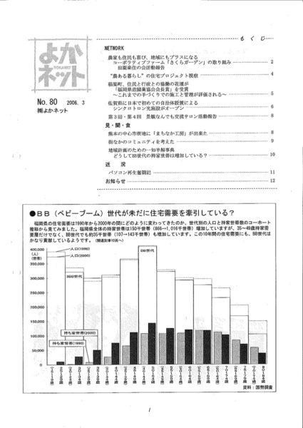 2006年3月号 (No.80)