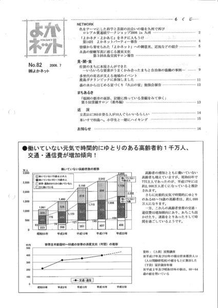 2006年7月号 (No.82)