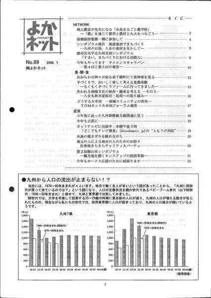 2008年1月号 (No.89)